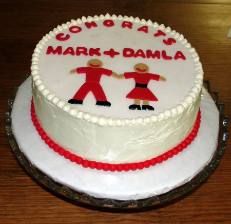 Mark Hovland engagement to Damla