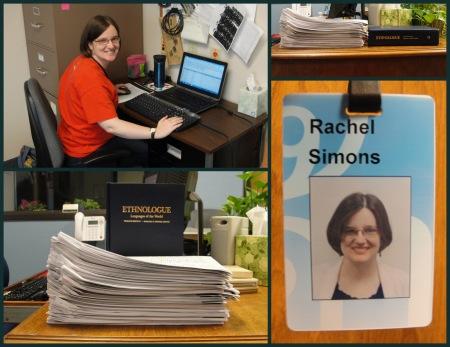 Rachel's Work Pics